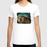 jaguar T-shirts featuring Jaguar by Adamzworld