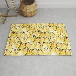 chick pattern Rug