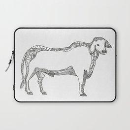 Brahman Bull Side Doodle Side Laptop Sleeve