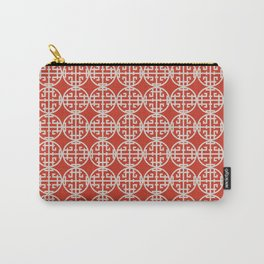 Asian screen - Red Carry-All Pouch