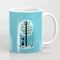snow white Mugs featuring Snow White by Freeminds