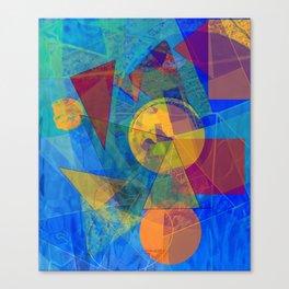Modern Abstract Canvas Print