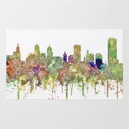 Buffalo, New York Skyline SG - Faded Glory Rug