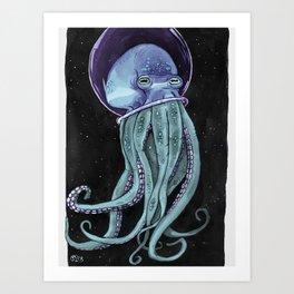Octonaut - Color Art Print