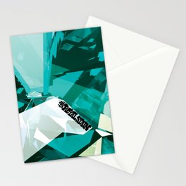 Turquoise Quartz Royal Stain Stationery Cards