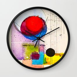 He`s got the sun and the moon  XII Wall Clock