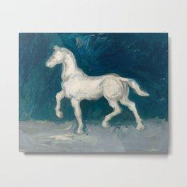 Horse by Vincent van Gogh, 1886 Metal Print