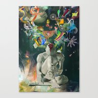 archan nair Canvas Prints featuring Ia:Sija by Archan Nair