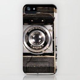 My dad's Vintage Kodak Camera iPhone Case