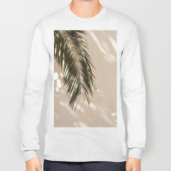 tropical palm leaves vi Long Sleeve T-shirt