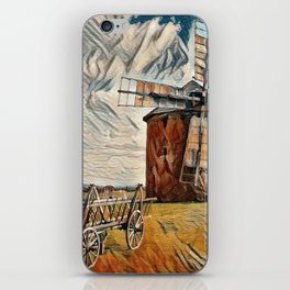 Old Wind Mill iPhone Skin