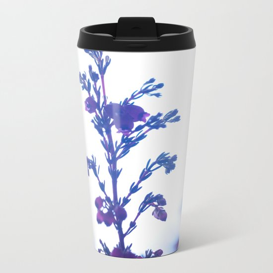 Heather flower #1 #decor #art #society6 Metal Travel Mug