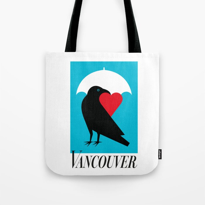 Vancouver's Canuck the Crow Tote Bag