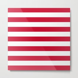 Flag of Goes Metal Print