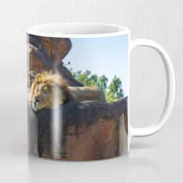 Sleeping Lion Coffee Mug