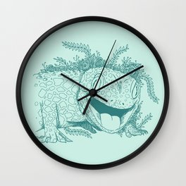 Gecko Wall Clock