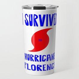 I Survived Hurricane Florence Travel Mug