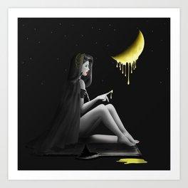 Honey moon - for a sweet night Art Print