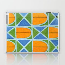 Lighted Arched Windows Pattern Laptop & iPad Skin