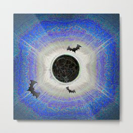 HALLOWEEN ECLIPSE IS NEVER OVER Metal Print