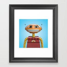 Scott the robot. Framed Art Print