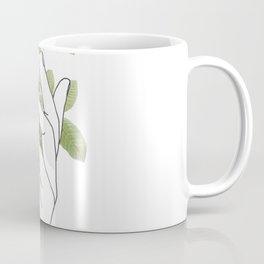 Flower in the Hand Coffee Mug