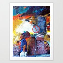 BOHEMIAM Art Print