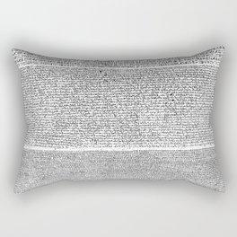 The Rosetta Stone Rectangular Pillow