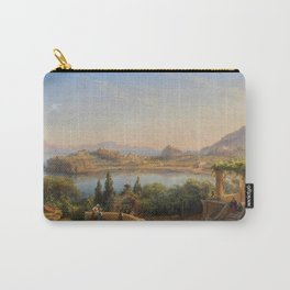 Port of Ischia, Italy by Eduard Agricola Carry-All Pouch