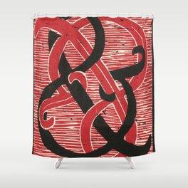 Infinite Ampersand Shower Curtain