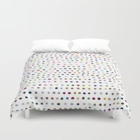 dots Duvet Covers featuring Dots by Farnell