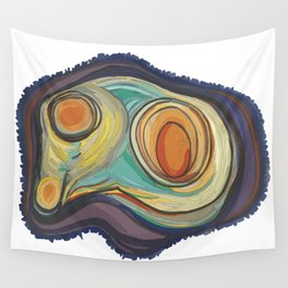 Tree Stump Series 2 - Illustration Wall Tapestry