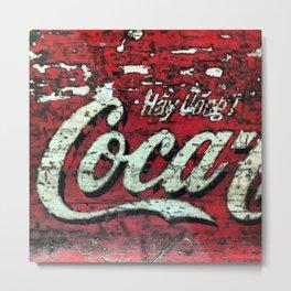 Vietnamese Coca Cola Metal Print
