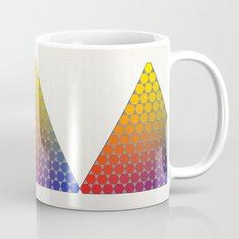 Lichtenberg-Mayer Colour Triangle recoloured remake, based on Mayer's original idea and illustration Coffee Mug