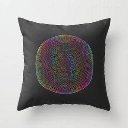 exponential  Throw Pillow