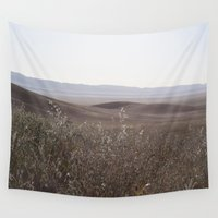 plain Wall Tapestries featuring carrizo plain by maedel