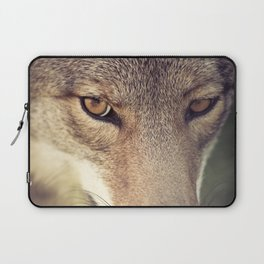 In the eyes of the Coyote Laptop Sleeve