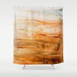 Patina Hint Shower Curtain