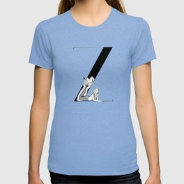 Mermaid Alphabet Series - Z T-shirt