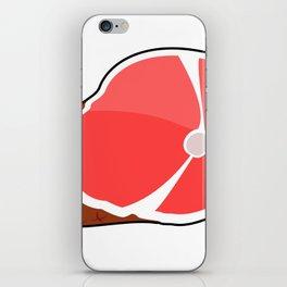 Juicy Ham iPhone Skin