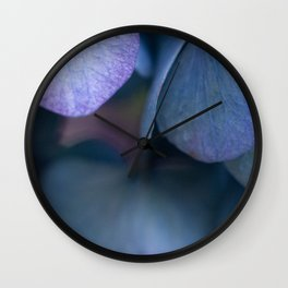 Leaves of Blue, Green and Purple #1 #decor #art #society6 Wall Clock