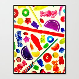 For The Love Of Candy Canvas Print