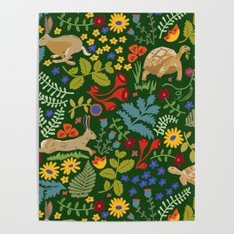 Tortoise and Hare Poster