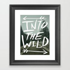 Into the Wild II Framed Art Print