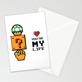 You're my life Stationery Cards