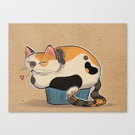 Cat Muffin Canvas Print