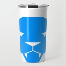 Blue Cat Travel Mug