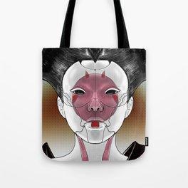 Robot Geisha V1 Tote Bag