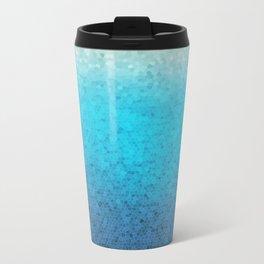 Sea Glass Metal Travel Mug
