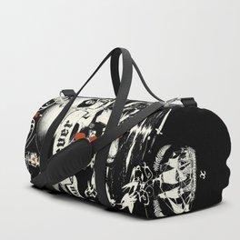 NEVER SAY DIE Duffle Bag
